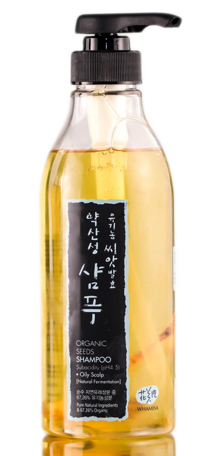 Whamisa Organic Seeds Shampoo for Oily Scalp