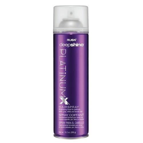 Rusk Deepshine PlatinumX Hairspray