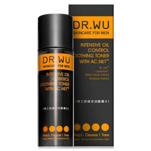 Dr. Wu Skincare For Men Intensive Oil Control Soothing Toner