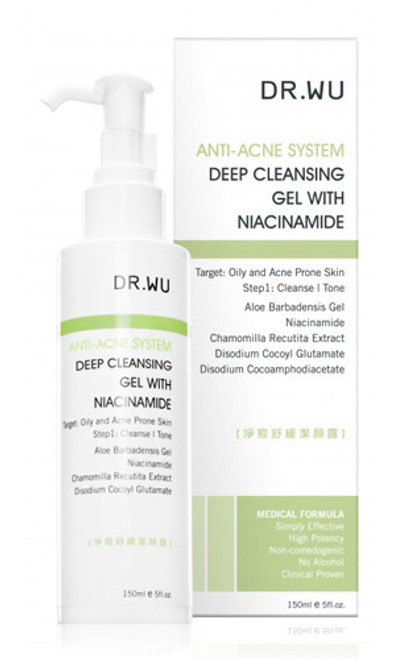 Dr. Wu Anti-Acne System Deep Cleansing Gel