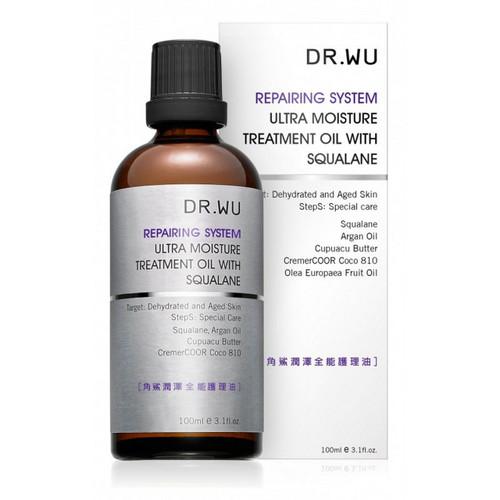Dr. Wu Repairing System Ultra Moisture Treatment Oil- 3.1oz