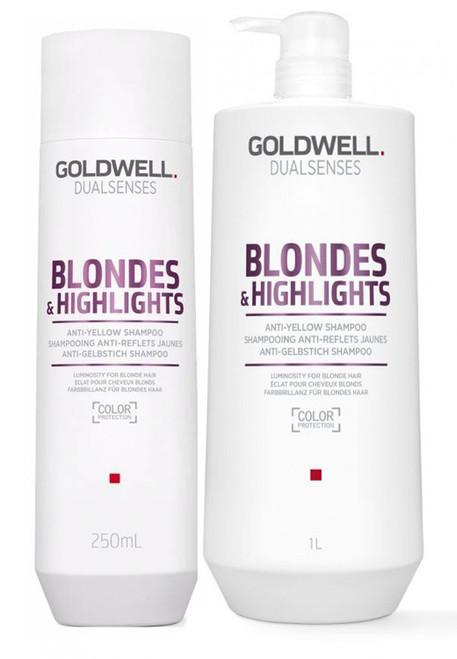 Goldwell Dualsenses Blonde And Highlights Anti-Yellow Shampoo