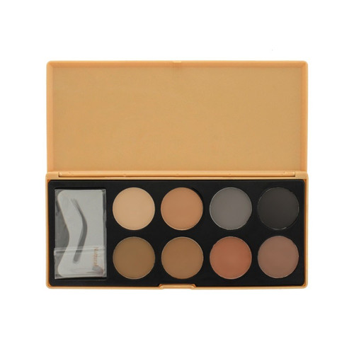 Crown Brush 8 Color Brow Palette