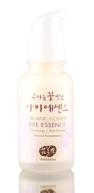Whamisa Organic Flowers Eye Essence Brightening & Anti-Wrinkle Cream