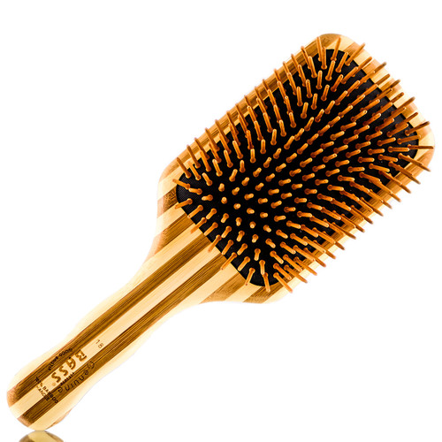 Bass Brushes Large Square Wood Bristle Brush