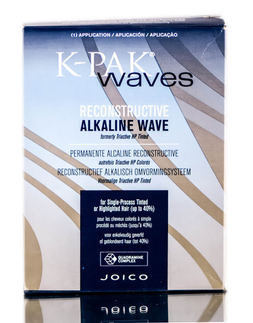 Joico K-Pak Waves Reconstructive Alkaline Wave for Chemically Treated Hair