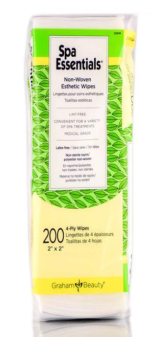Graham Beauty Spa Essentials Non-Woven Esthetic Wipes