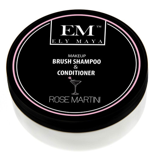 Ely Maya Make-up Brush Shampoo & Conditioner - Rose Martini