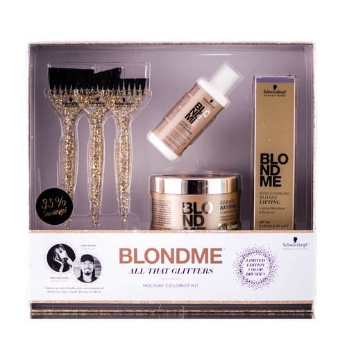 Schwarzkopf Professional Blondme All That Glitters Holiday Colorist Kit