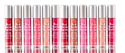 theBalm Meet Matt(e) Hughes 6 Mini Liquid Lipsticks Limited Set Vol 3