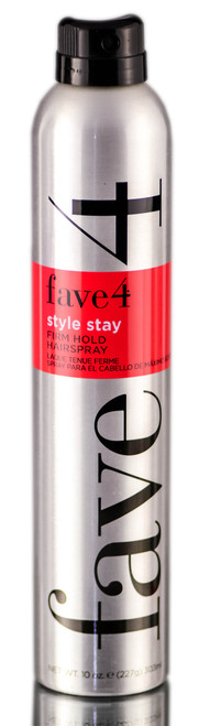 Fave4 Style Stay Firm Hold Hairspray