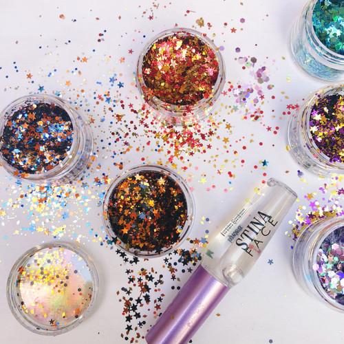StinaFace Glitter
