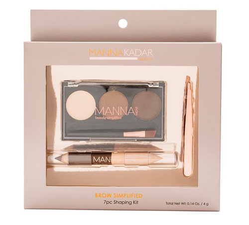 Manna Kadar Brow Simplified Kit