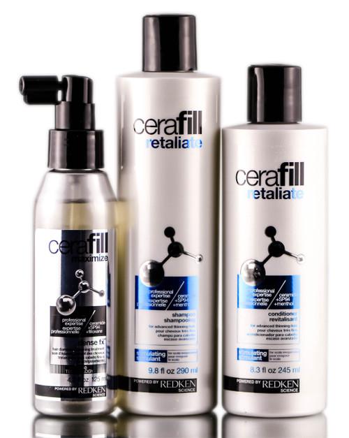 Redken Cerafill Retaliate Advanced Thinning Hair System
