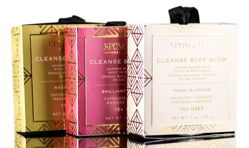 Spongelle Shimmer Collection Cleanse Bluff Glow