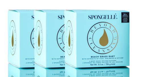 Spongelle Body Wash Infused Buffers Duet