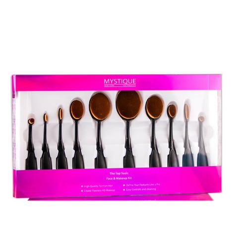 Mystique Cosmetics The Top Tools Face & Makeup Kit
