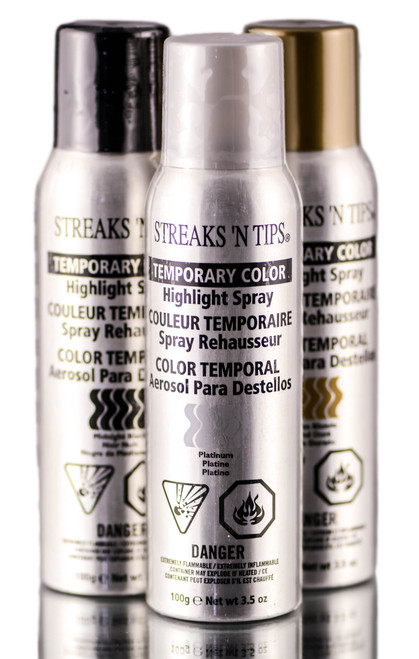 Streaks 'N Tips Temporary Color Highlight Spray