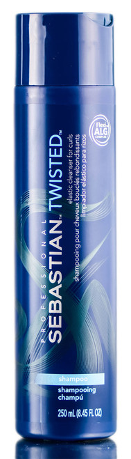 Sebastian Pro Twisted Shampoo, Elastic Cleanser for Curls