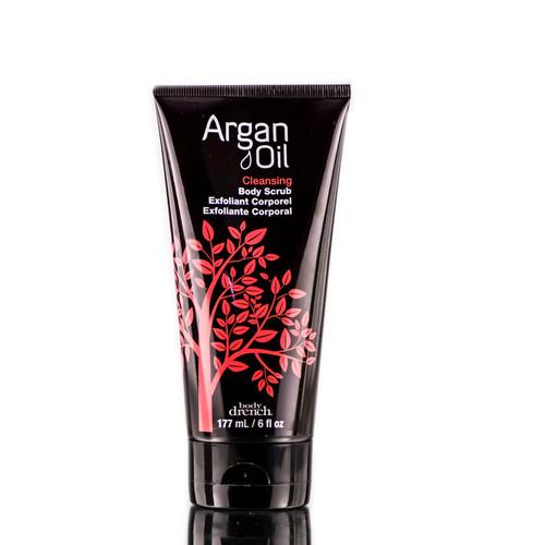 Body Drench Argan Oil Cleansing Body Scrub