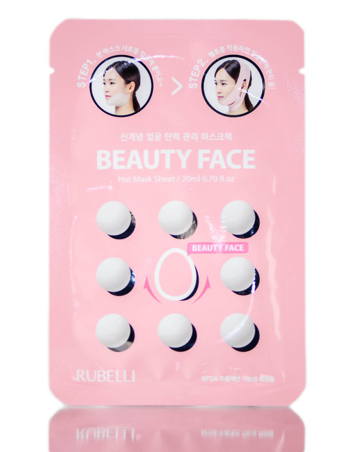 Mishe Rubelli Beauty Face Hot Mask Sheets