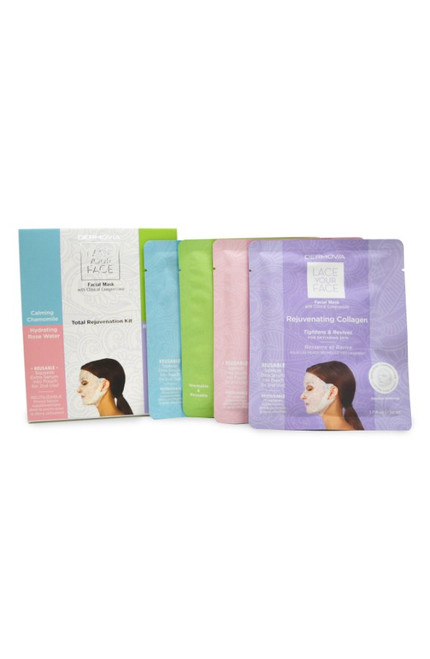 Dermovia Lace Your Face Facial Mask Total Rejuvenation