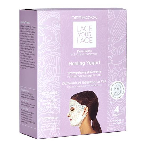 Dermovia Lace Your Face Facial Mask Healing Yogurt