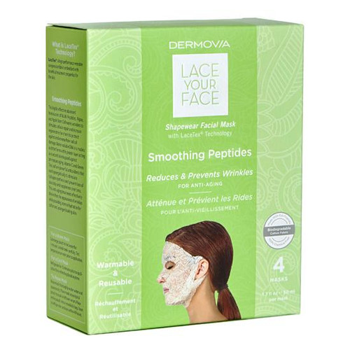 Dermovia Lace Your Face Facial Mask Smoothing Peptides