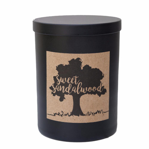 Hip & Chick Organiks Sweet Sandalwood Soy Candle
