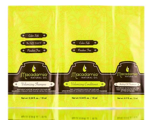 Macadamia Natural Oil Volumizing Travel Trio