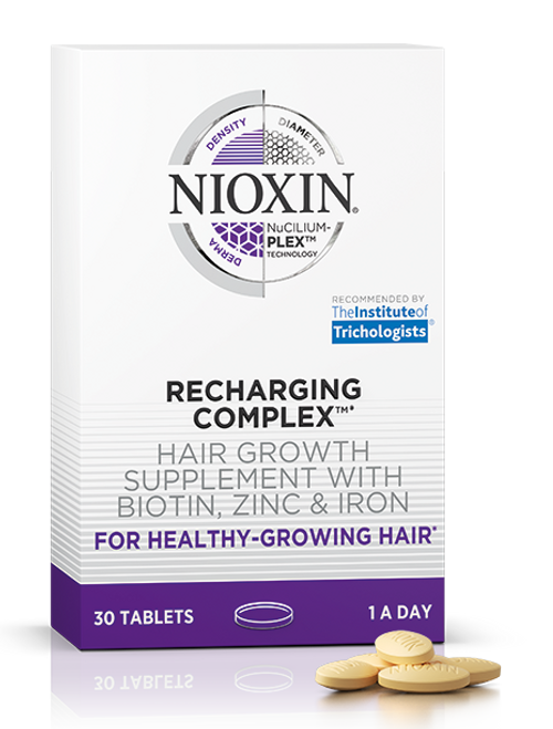 Nioxin Recharging Complex Hair Growth Supplement