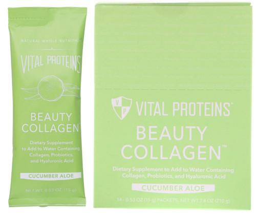 Vital Proteins Cucumber Aloe Beauty Collagen
