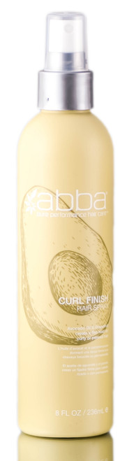 ABBA Curl Finish Hair Spray - Avocado Oil & Grapefruit Create a Firm Hold for Curly or Permed Hair