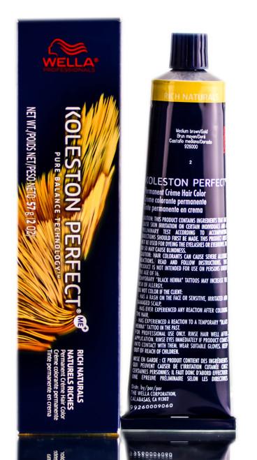 Wella Rich Naturals Koleston Perfect Creme Color