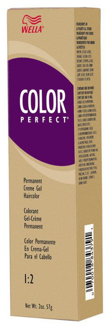 Wella Color Perfect Permanent Creme Gel Haircolor
