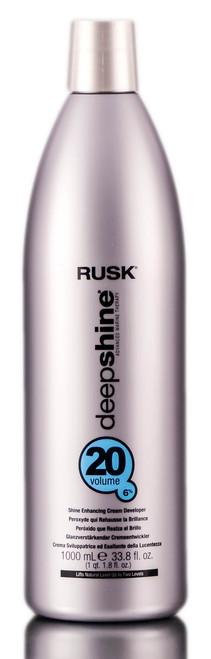 Rusk Deepshine Shine Enhancing Cream Developer - 20 Vol. 6%