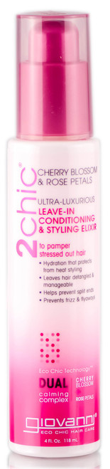 Giovanni 2 Chic Ultra Luxurious Leave-In Conditioning & Styling Elixir