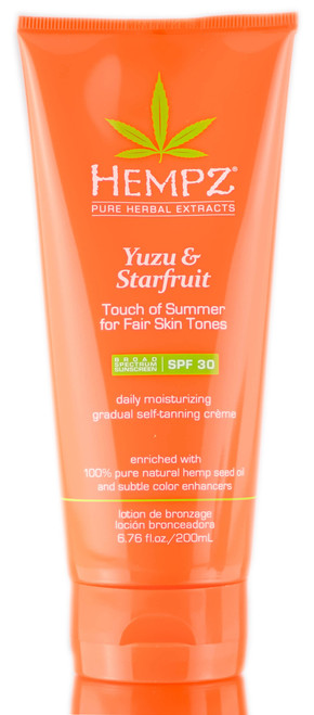 Hempz Yuzu & Starfruit Daily Moisturizing Gradual Self-Tanning Creme