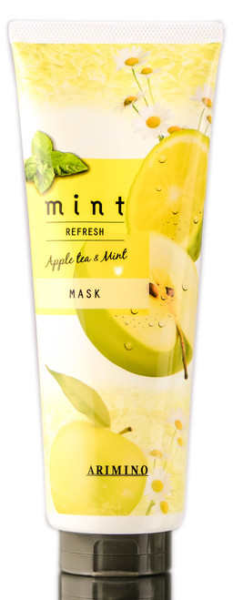 Arimino Mint Refresh Apple Tea & Mint Mask