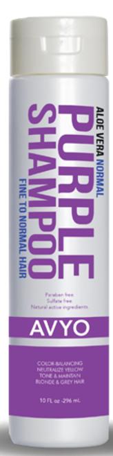 Avyo Aloe Vera Purple Shampoo