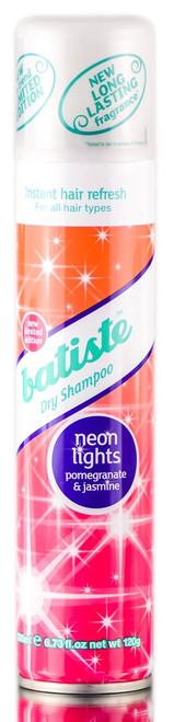Batiste Neon Lights Pomegranate & Jasmine Dry Shampoo
