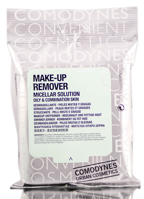 Comodynes Oily & Combination Skin Micellar Solution Make-Up Remover Pack