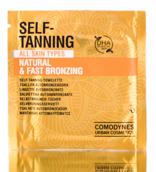 Comodynes Self-Tanning Natural & Fast Bronzing Towelette