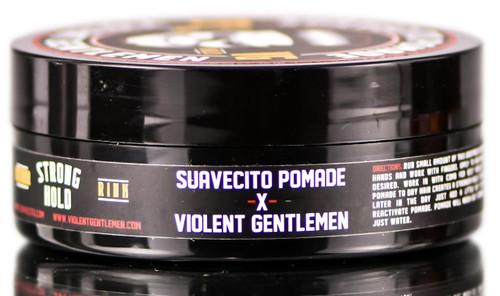 Suavecito Pomade Violent Gentlemen Firme Strong Hold