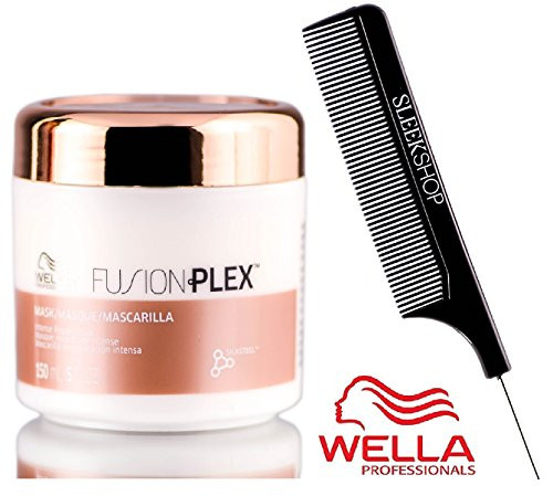 Wella FUSION PLEX Intense Repair Mask (with Sleek Steel Pin Tail Comb) Masque
