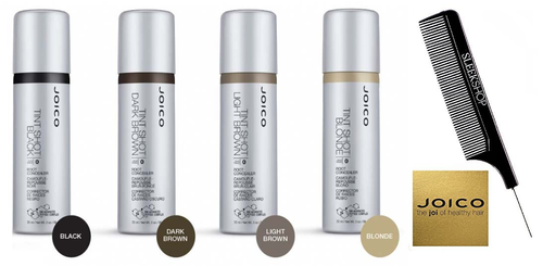 Joico TINT SHOT Root Concealer, Bio-Advanced Peptide Complex w/ Sleek Tail Comb
