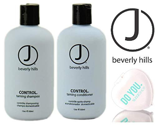 J Beverly Hills CONTROL Taming SHAMPOO & CONDITIONER Duo Set (w/ Compact Mirror)