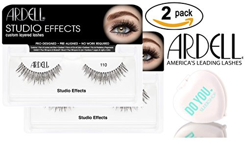 Ardell Professional STUDIO EFFECTS Custom Layered Lashes, 2-pack w/ Sleek Mirror