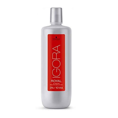 Schwarzkopf IGORA Royal Oil DEVELOPER (with Sleek Tint Brush) 33.8 oz / 1000ml