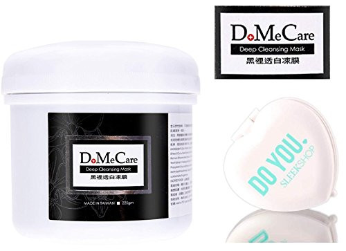 D. Me Care DMC Deep Cleansing Jelly Mask Pack, (w/ Sleek Compact Mirror) Taiwan